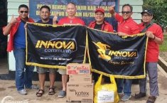 Innova Community Peduli Banjir Jakarta, Donasikan Kebutuhan Pokok Para Korban