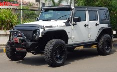Dijual mobil bekas Jeep Wrangler Sahara 3.6 FULL MODIFIKASI 2012, DKI Jakarta