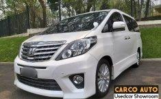 Jual Cepat Mobil Toyota Alphard 2.4 NA 2013 di Banten