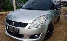 Jual Cepat Mobil Suzuki Swift GX 2013 Silver di Jawa Barat