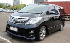 Jual Cepat Mobil Toyota Alphard G ATPM 2010 AT Hitam di DKI Jakarta