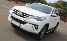 Jual Cepat Mobil Toyota Fortuner VRZ 2016 Putih di DKI Jakarta