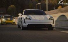 Porsche Taycan Jadi Objek Rebutan Di Iklan Super Bowl 2020