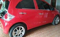 Jual Cepat Mobil Honda Brio Satya S 2015 Merah Manual di DKI Jakarta