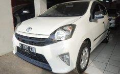 Jual mobil Toyota Agya G MT 2014 dengan harga murah di Jawa Barat