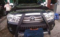 Jual Toyota Fortuner G 2010 harga murah di Sumatra Utara
