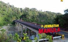 Jembatan Manula Selesai Dibangun, Bengkulu-Lampung Makin Singkat