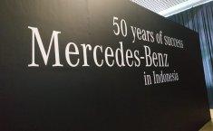 Ini Kisah Sukses Sejarah 50 Tahun Perjalanan Mercedes-Benz di Indonesia
