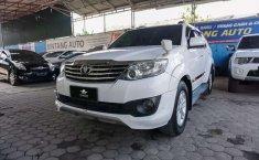 Jambi, jual mobil Toyota Fortuner G 2012 dengan harga terjangkau