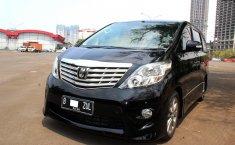 Jual mobil Toyota Alphard G ATPM AT Hitam 2010 terawat di DKI Jakarta