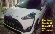 Jual mobil bekas murah Toyota Sienta Q 2017 di Sumatra Utara