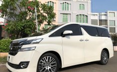 Jual mobil Toyota Vellfire 2.5 G ATPM 2017 bekas, Banten