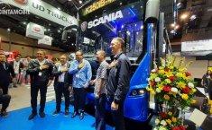 GIICOMVEC 2020: Scania K250IB Jadi Busway, United Tractors Bawa Empat Model