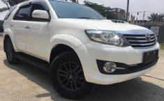 Dijual cepat Toyota Fortuner 2.5 G VNT AT 2015 bekas, Tangerang