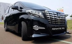Jual Mobil Bekas Toyota Alphard G S C Package 2015 di Tangerang Selatan