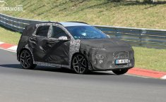 Hyundai Kona N Tertangkap Lakukan Tes di Nurburgring, Dapatkan 271 HP