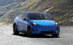 Tesla Model Y Blue on Black 2020, DKI Jakarta