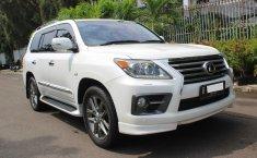 Dijual Mobil Lexus LX 570 2012 Kondisi Istimewa di DKI Jakarta