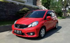 Jual cepat Honda Brio Satya E 2018 di Lampung