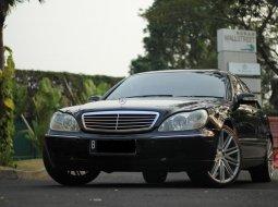Dijual cepat Mercedes-Benz S-Class S 320 W220 2001 murah di DKI Jakarta