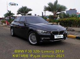 Dijual mobil BMW 3 Series 320i  Luxury 2014 Hitam di Tangerang Selatan