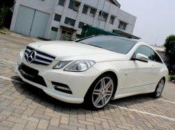 Dijual cepat Mercedes-Benz E-Class E 250 2012 Coupe di DKI Jakarta