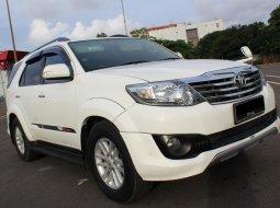 Dijual mobil bekas Toyota Fortuner G TRD 2012 SUV Putih di DKI Jakarta