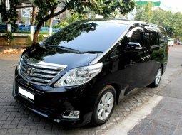 Dijual cepat mobil Toyota Alphard G Premiumsound AT Hitam 2012, DKI Jakarta