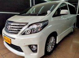 Dijual cepat mobil Toyota Alphard 2.4 S At 2012 Putih, DKI Jakarta