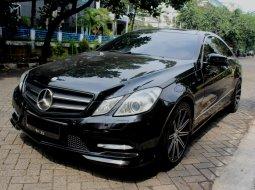 Dijual Mobil Mercedes-Benz E-Class E250 2013 Coupe Hitam di DKI Jakarta