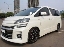 Dijual mobil Toyota Vellfire GS AT 2013 Putih di DKI Jakarta