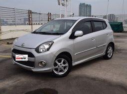 Dijual mobil bekas Daihatsu Ayla X Tahun 2014 / 2015 Automatic Silver Metalik, DKI Jakarta