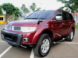 Dijual cepat mobil Mitsubishi Pajero Sport Dakar 4X4 2012 Merah, DKI Jakarta