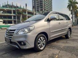 Jual Mobil Bekas Toyota Kijang Innova 2.4G Bensin Silver 2015 di DKI Jakarta