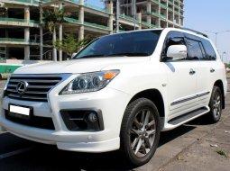 Jual Mobil Bekas Lexus LX 570 2012 Putih di DKI Jakarta