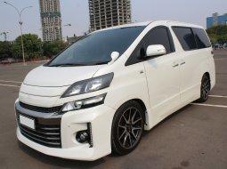 Dijual Cepat Toyota Vellfire 2.5 NA 2013 Putih di DKI Jakarta