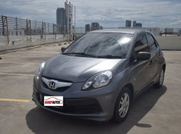 Dijual cepat Honda Brio Satya A 1.2 Manual 2014/2015 di DKI Jakarta
