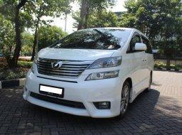 Jual Cepat Toyota Vellfire Z Audioless 2011 Putih di DKI Jakarta