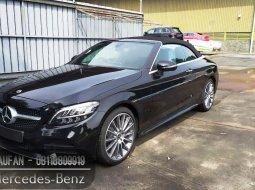 Mercedes-Benz C-Class C200 Cabrio 2020 (NIK 2019) Hitam Dealer Resmi Mercedesbenz Jakarta