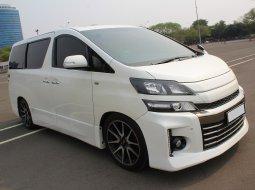 Dijual Mobil Toyota Vellfire 2.5 NA 2013 Putih di DKI Jakarta