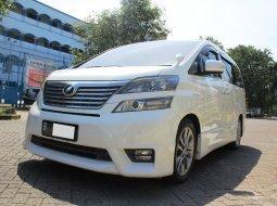 Dijual cepat mobil Toyota Vellfire Z Audio Less 2011 Putih, DKI Jakarta