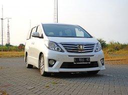 Dijual Mobil Bekas Toyota Alphard 2.4 SC 2014 PREMIUM SOUND 18 SPEAKER Putih Surabaya