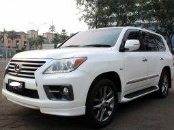Dijual Mobil Bekas Lexus LX 570 2012 Putih di DKI Jakarta
