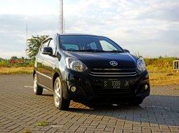 Jual Mobil Daihatsu Ayla X 1.0 MT Hitam 2017 Surabaya