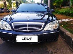 Dijual Mobil Mercedes-Benz S-Class S 320 L 2000 Hitam di DKI Jakarta