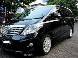 Dijual Mobil Toyota Alphard 2.4 NA 2008 Hitam di DKI Jakarta