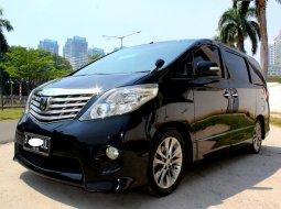 Jual Mobil Toyota Alphard S 2010 Hitam di DKI Jakarta