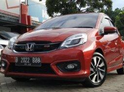 Dijual Mobil Bekas Honda Brio RS 2017 di Tangerang Selatan