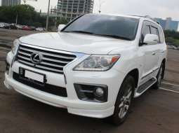 Dijual Cepat Lexus LX 570 AT 2012 Putih di DKI Jakarta