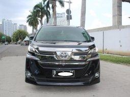 Jual Mobil Toyota Vellfire 2.5 NA 2015 Hitam di DKI Jakarta